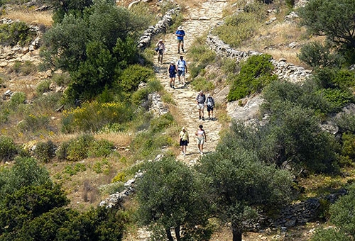 The Byzantine Trail - Lefkes to Prodromos